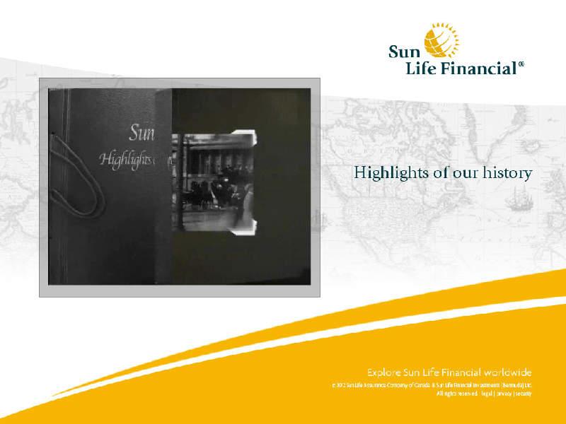 sun life financial case report